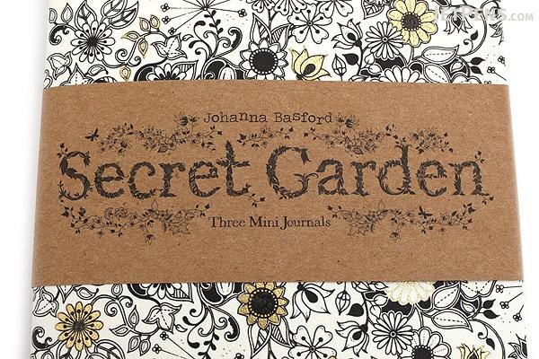 Laurence King - Secret Garden: Three Mini Journals - Johanna Basford - LAURENCE KING 9781856699488