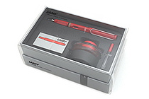 Lamy Safari Fountain Pen Gift Set - Medium Nib - Red Body - LAMY L16HS