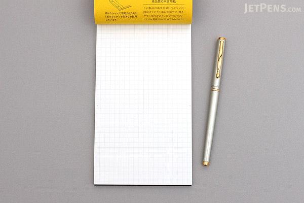 Maruman Mnemosyne N177 Notepad - Long - 5 mm Graph - MARUMAN N177A