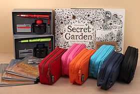 New Products: JetPens Chibi 2, Lamy Gift Sets, Cubix Cases, Mark's Notebooks, Secret Garden Coloring Books, and More!