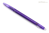 Pilot FriXion Ball Slim Gel Pen - 0.38 mm - Violet - PILOT LFBS-18UF-V