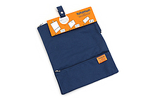 King Jim Tatamun Folding Pouch - Navy - KING JIM 362 NAVY