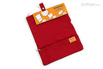 King Jim Tatamun Folding Pouch - Red - KING JIM 362 RED