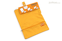 King Jim Tatamun Folding Pouch - Yellow - KING JIM 362 YELLOW