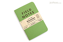 "Field Notes Shenandoah Memo Books - 3.5"" x 5.5"" - 48 Pages - Graph - Pack of 3 - FIELD NOTES FNC-28"