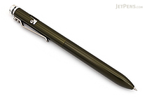 Karas Kustoms Bolt Pilot G2 Pen - Olive Green - 0.5 mm - Black Ink - KARAS KK-5036-OLIVE GREEN