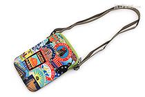 ArtBird Strappy-Go-Lucky Crossbody Sling Bag - Medium - The Traveler - ARTBIRD C806