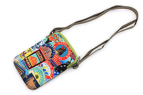 ArtBird Strappy-Go-Lucky Crossbody Sling Bag - Medium - The Traveler - ARTBIRD C806