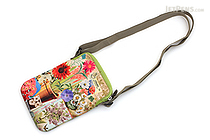 ArtBird Strappy-Go-Lucky Crossbody Sling Bag - Medium - Flower Garden - ARTBIRD C803