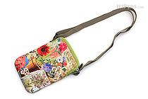ArtBird Strappy-Go-Lucky Crossbody Sling Bag - Medium - Flower Garden - ARTBIRD C803
