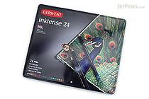 Derwent Inktense Pencil - 24 Color Set - DERWENT 0700929