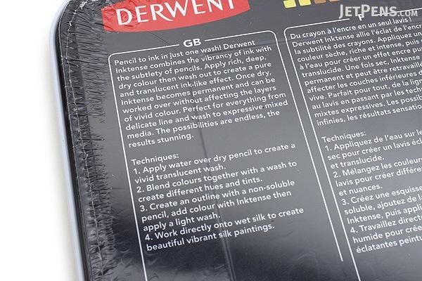Derwent Inktense Pencil - 36 Color Set - DERWENT 2301842