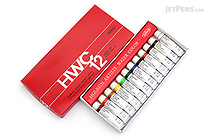 Holbein Artists' Watercolor Tube - 5 ml - 12 Color Set - HOLBEIN W401