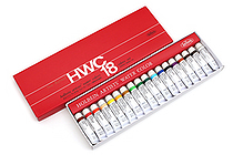 Holbein Artists' Watercolor Tube - 5 ml - 18 Color Set - HOLBEIN W403