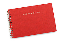 Mark's Travelife Mini Sketchbook - Red - MARK'S TRL-SKB1-RE
