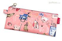 Sedia Kottei Pen Case - Flat - Pink - SEDIA KT-1960-PK