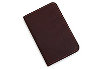 Word Notebooks Leather Notebook Cover - Brown - WORD NOTEBOOKS W-NBCOVERBRN