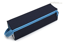 Kokuyo C2 Tray Type Pencil Case - Navy + Light Blue - KOKUYO F-VBF122-1