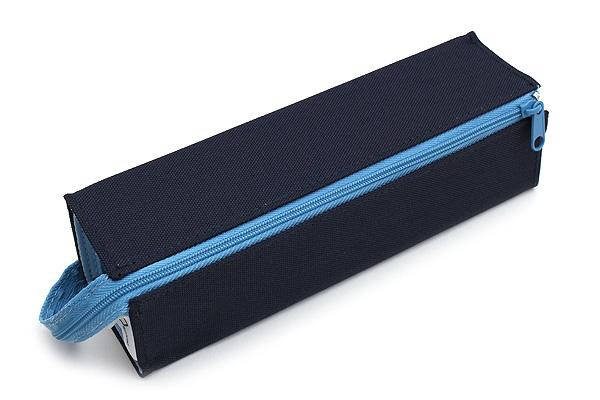 Kokuyo C2 Tray Type Pencil Case - Navy + Light Blue - KOKUYO F-VBF122-1
