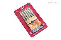 Sakura Pigma Micron Pen - Size 005 - 0.2 mm - 6 Color Set - SAKURA 30064