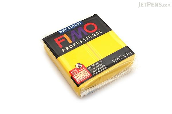 Staedtler FIMO Professional Modeling Clay - True Yellow - STAEDTLER 8005-100LU