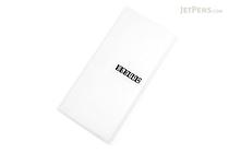King Jim Oletta Tri-Fold Folder - A4 - Transparent Clear - KING JIM 796T CLEAR
