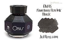 OMAS Black Ink - 62 ml Bottle - OMAS O00E000600-00