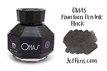 OMAS Black Ink - 62 ml Bottle - OMAS O00E000600-00