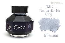 OMAS Grey Ink - 62 ml Bottle - OMAS O00E002300-00