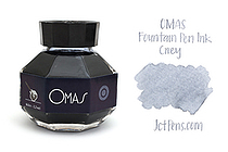 OMAS Fountain Pen Ink - 62 ml - Grey - OMAS O00E002300-00