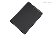 Mark's Re:fin[e]d Products Uroko Notebook - B5 - Black - MARK'S RFP-NB1-BK