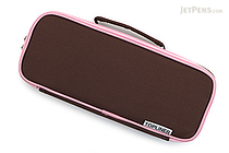 Raymay Topliner Pen Case - Brown - RAYMAY FSB108C