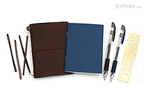 JetPens Midori Traveler's Notebook Kit - JETPENS JETPACK-021