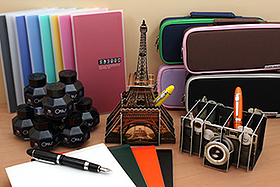 New Products: Pen Cases, Folders, Notebooks, Fountain Pens and Ink, Organizers, and More!