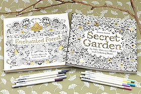Pen Perks: Coloring Book Giveaway