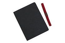Apica Premium C.D. Notebook Hardcover - A5 - Graph - Black - APICA CDS250S