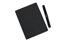 Apica Premium C.D. Notebook Hardcover - A5 - Lined - Black - APICA CDS250Y