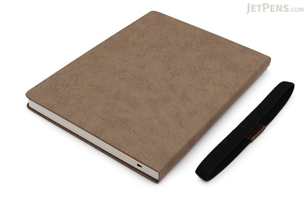 Apica Premium C.D. Notebook Hardcover - A5 - Blank - Light Brown - APICA CDS251W