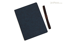 Apica Premium C.D. Notebook Hardcover - A5 - Lined - Navy - APICA CDS251Y