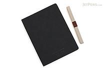 Apica Premium C.D. Notebook Hardcover - A5 - Blank - Black - APICA CDS250W