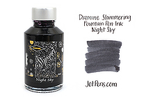 Diamine Shimmering Fountain Pen Ink - 50 ml - Night Sky - DIAMINE INK 9000