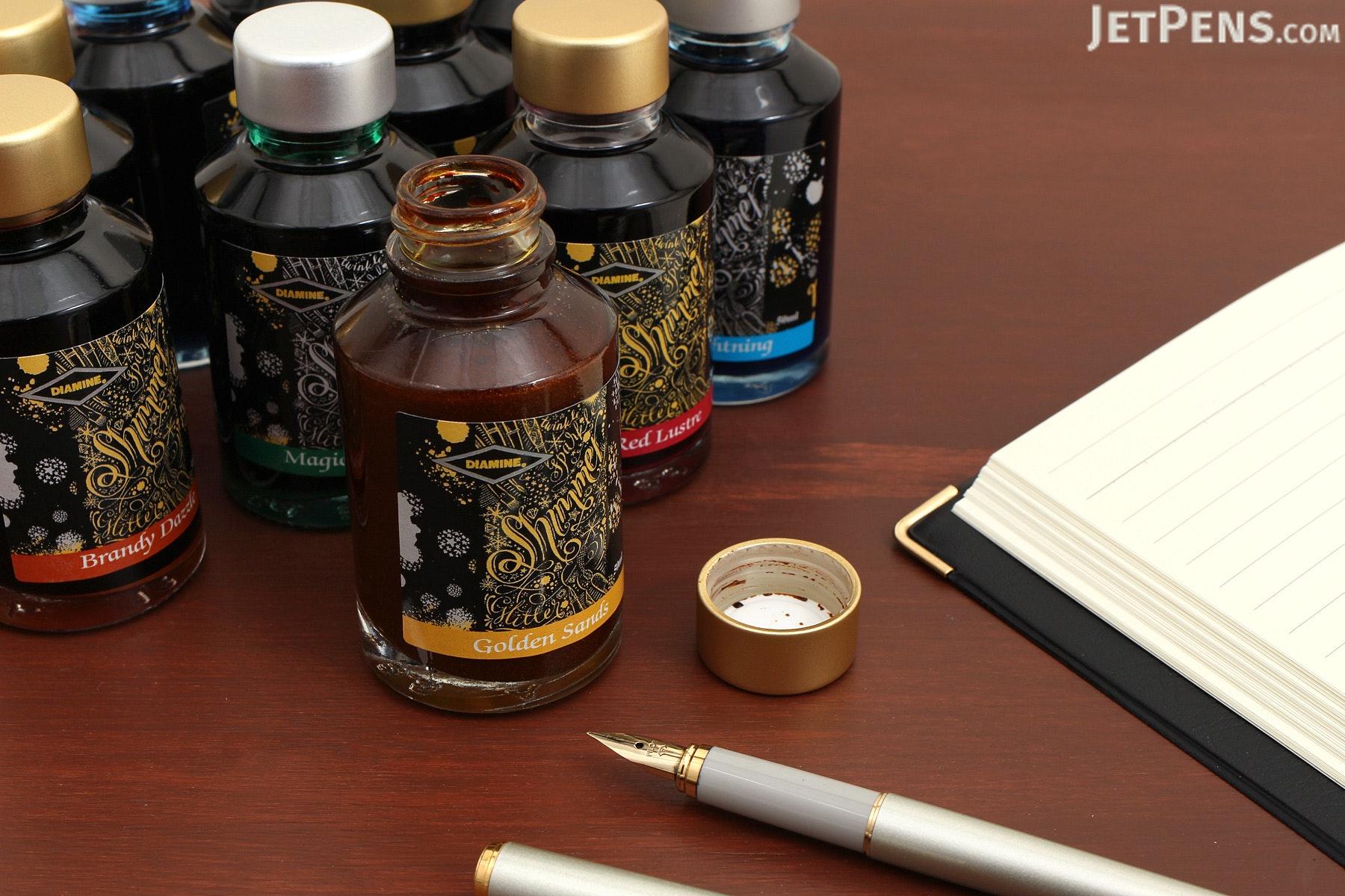 Diamine Magical Forest Ink - Shimmering - 50 ml Bottle - DIAMINE INK 9003