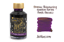 Diamine Shimmering Fountain Pen Ink - 50 ml - Purple Pazzazz - DIAMINE INK 9002