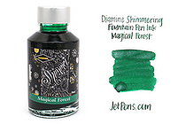 Diamine Shimmering Fountain Pen Ink - 50 ml - Magical Forest - DIAMINE INK 9003