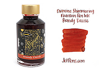 Diamine Shimmering Fountain Pen Ink - 50 ml - Brandy Dazzle - DIAMINE INK 9007