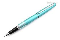 Pilot Metropolitan Retro Pop Rollerball Gel Pen - Fine Point - Turquoise Dots - PILOT MPRB1BLKFTRQ