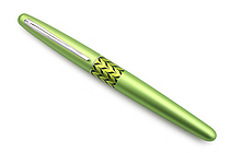 Pilot Metropolitan Retro Pop Fountain Pen - Green Marble - Medium Nib - PILOT MPFB1BLKMGRN