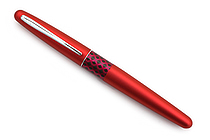 Pilot Metropolitan Retro Pop Fountain Pen - Red Wave - Medium Nib - PILOT MPFB1BLKMRED