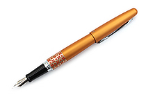 Pilot Metropolitan Retro Pop Fountain Pen - Orange Flower - Fine Nib - PILOT MPFB1BLKFORG