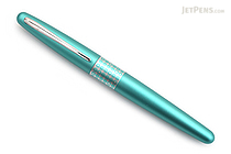 Pilot Metropolitan Retro Pop Fountain Pen - Turquoise Dots - Medium Nib - PILOT MPFB1BLKMTRQ